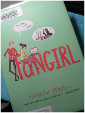 """The whimsical illustrations featured on the cover of Fangirl are created by Anna Gorovoy. The first edition of the novel was published and distributed in September of 2013, but has only recently become popular. """"A funny and tender coming-of-age story that's also the story of a writer finding her voice...touching and utterly real,"""" Publisher's Weekly said. PC: Priscilla Ng"""