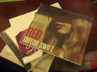"""So far, senior Lena Yen's collection of CD's includes Taylor Swift's last two albums, Speak Now and Red. Although there has been no announcement of a title or release date, there are rumors that Swift will be dropping a new album sometime in the next year. """"I'd like if her new album would be less pop-oriented,"""" Yen said. """"I liked her old country style more because I think it suits her better."""""""