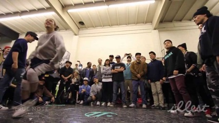 """Jamrock entered the ring for the first round during the final battle. """"Our days of breaking is over for now, I'm pretty happy with this victory and I'm happy to start judging competitions like these!"""" Matt Kimura from Beats and Pieces crew said."""