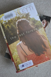 "Caption: The Last Forever was first published in April 2014. Caletti is the author of ten other books, including Honey, Baby Sweetheart, a National Book Award Finalist. ""Caletti writes movingly here, particularly as Tessa reflects on her mother's final days, and offers up a surprising story about love, loss, and putting down roots in a world that's constantly changing,"" Booklist said."